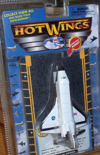 HOT WINGS SPACE SERIES SPACE SHUTTLE - 1