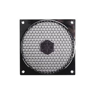SilverStone 120mm Fan Filter with Grill FF121B (Black)