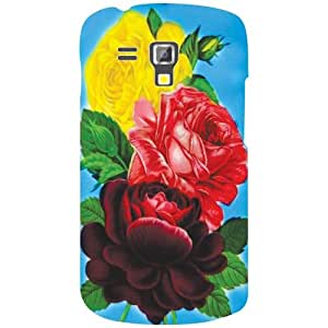 Back Cover For Samsung Galaxy S Duos 7582 (Printed Designer)