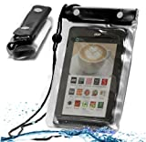 MiTAB Black Waterproof Case / Cover For 7 Inch Tablets Including The Lenovo IDEATAB A1000 TABLET / A3000 / S5000