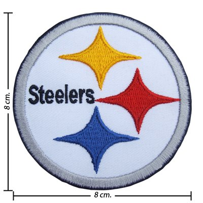 Pittsburgh Steelers Logo Embroidered Iron on Patches at Amazon.com