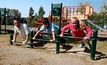 Kidstuff Playsystems HTK05 Push Up Bars and Sign
