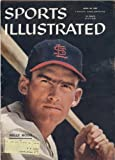 Sports Illustrated Vol. 6 No. 16 (April 22, 1957) Wally Moon St. Louis Cardinals