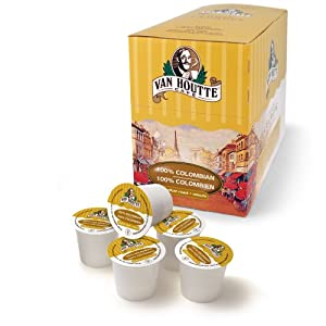Van Houtte 100 Colombian Medium Roast Coffee 24-count K-cups For Keurig Brewers Pack Of 2 from Van Houtte