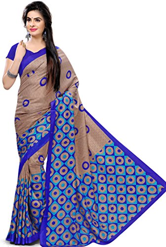 Samskruti Sarees Women's Abstract design Art Silk Saree(3081)