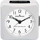 Essentialz Precision Radio Controlled Alarm Clock with C7 Mini Pocket LED Projection Clock