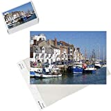 Photo Jigsaw Puzzle of Old Town and Harbour, Weymouth, Dorset, England, United Kingdom, Europe from Robert Harding