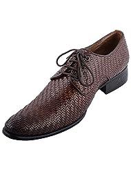 D.Desire Men's Leather Formals & Lace-Up Flats - B00Y1ER1MQ