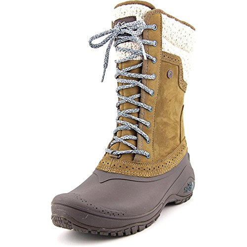 The North Face Shellista II Mid Boot - Women's Desert Palm Brown/Balsam Blue, 6.5