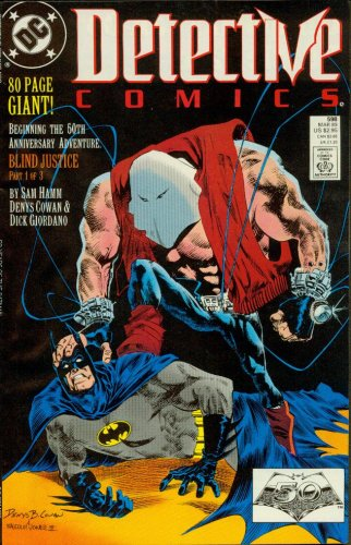 Detective Comics #598 Blind Justice