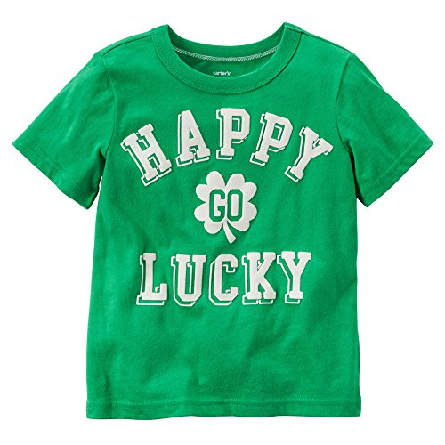 Carters Baby Boys Happy Go Lucky Tee Green 6M