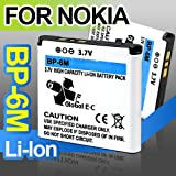 HSN High Capacity Battery Bp-6M For Nokia 3250 6233 6234