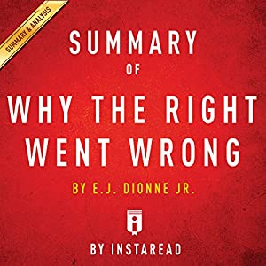 Summary of Why the Right Went Wrong by E. J. Dionne | Includes Analysis Audiobook
