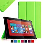 Fintie Nokia Lumia 2520 Slim Shell Case - Ultra Slim Lightweight Stand Cover for Nokia Lumia 2520 10.1 Inch Microsoft Windows RT 8.1 Tablet - Green