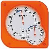 エンペックス気象計 温度・湿度計シュクレミディ TM-5604