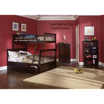 Review Atlantic Furniture Ab55507 Columbia Bunk Bed