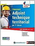 echange, troc Laurent Fischer, Élisabeth Simonin - Concours Adjoint technique territorial de 1re classe
