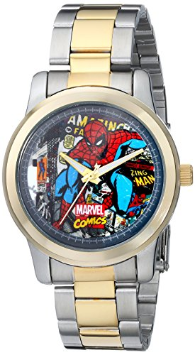 Marvel Comics Men'S The Avengers W001777 Analog-Quartz Two Tone Watch