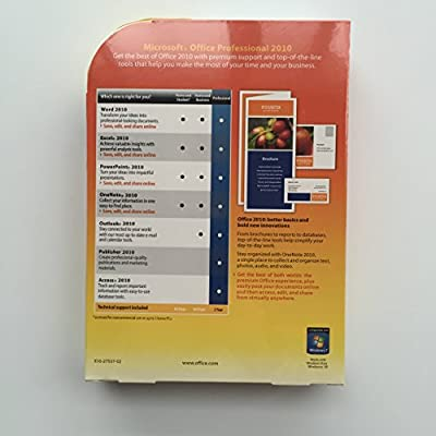 Microsoft Office2010 Professional 1pc/1user