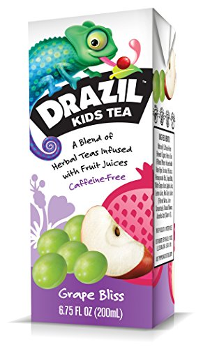 Drazil Kids Tea, Grape Bliss, 6.75-Ounce (Pack of 32) (Grape Tea compare prices)