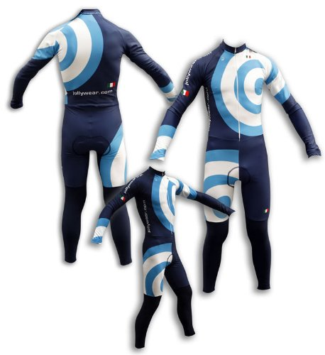 Buy Low Price JOLLYWEAR Cycling Thermal Skinsuit – long sleeves and tights (CONCENTRIC collection) (B002ZCE6OM)