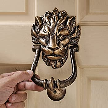 Design Toscano 10 Downing Street Lion Authentic Foundry Door Knocker