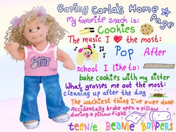 TY Teenie Beanie Bopper - CARING CARLA
