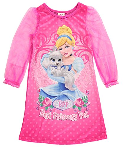 Disney Junior Little Girls' Cinderella Palace Pets Gown (Toddler)-Pink - 3T