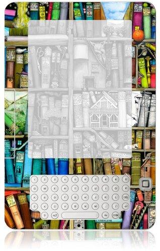 "GelaSkins Protective Kindle Skin (Fits 6"" Display, 2nd Generation Kindle), Bookshelf"