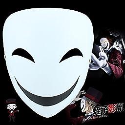 Anime kagetane hiruko Cosplay Prop Resin Mask Costume-made for Black Bullet