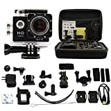 ANART® SJ4000 Wifi Full HD 1080P Waterproof Helmet Sports Camera 12MP with Shockproof Storge Bag