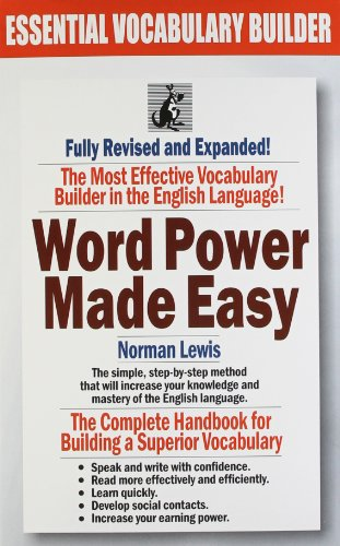 Word Power Made Easy and 30 Days to More Powerful Vocabulary (Set 2 Books) Image