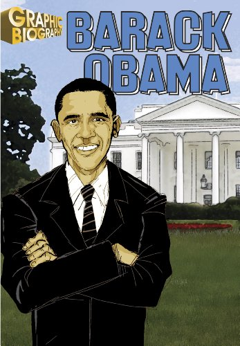 Barack Obama- Graphic Biographies (Saddleback's Graphic Biographies)