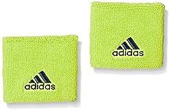 Adidas AI9044 Polyester Wristband, Free Size (Green/Blue)