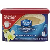 Maxwell House International Coffee French Vanilla Cafe, 8.4-Ounce Cans (Pack of 4)