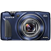 Fujifilm FinePix F900EXR 16MP Digital Camera with 3-Inch LCD (Indigo Blue)