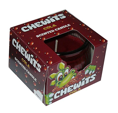 Chewits - Scented Candle burns up to 25 hours. Classic cola scent.
