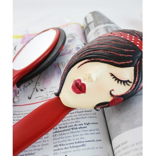 stylish-personal-mirror-red-handle-light-face-by-jacki-design