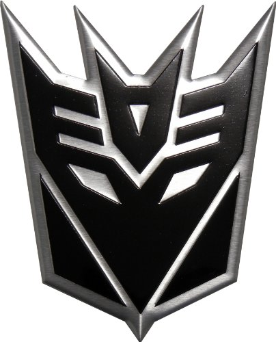 Decepticon Logo Black DECEPTICON BLACK LARGE