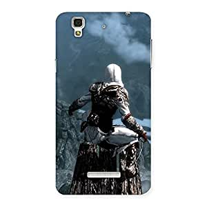 Delighted Riding Tree Multicolor Back Case Cover for YU Yureka Plus