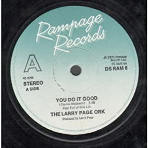 Larry Page Ork The You Do It Good Erotic Soul