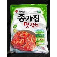 韓国一番 宗家白菜キムチ1kg (カット済み) 【翌日出荷可能品】