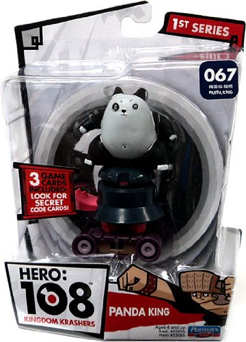 Hero 108 Kingdom Krashers Series 1 Action Figure #067 Panda King - 1