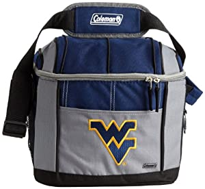 Buy NCAA West Virginia Mountaineers 24 Can Soft Sided Cooler by Licensed Products