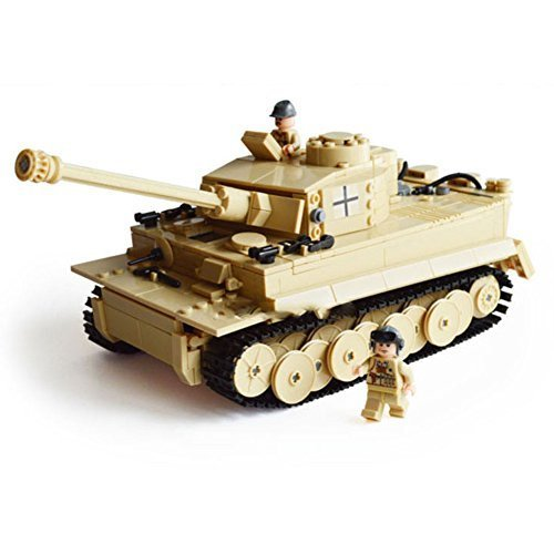 Kazi Building Block Century Military Tiger Tank Heer #82011 995pcs (Military Building Blocks compare prices)