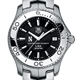 TAG HEUER watch:Northwestern TAG Heuer Watch - Men's Link with Black Dial at M.LaHart