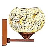 lampe de chevet étude de lampe chambre murale en fer forgé pays américains rétro salle de bains miroir lumières...