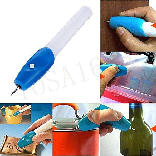 YOSA Mini Engraving Pen Electric Carving Pen Machine Graver Tool Engraver Steel Jewellery Engraver Pen (Electronic Engraving Pen compare prices)