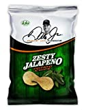 Dale Jr Foods Zesty Jalapeno Potato Chips, 8-Ounce (Pack of 12)