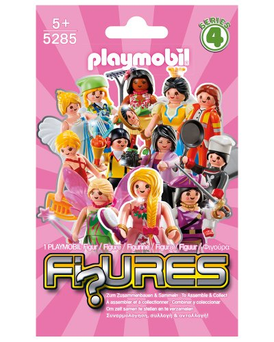 PLAYMOBIL Girls Mystery Figures - Series 4 Action Figure (Styles May Vary)